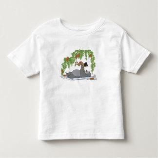 Jungle Book Baloo holding up Mowgli  Disney Shirt