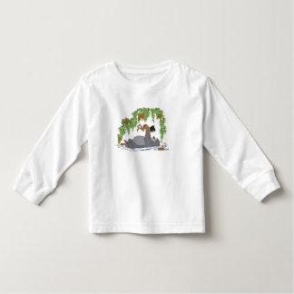 Jungle Book Baloo holding up Mowgli  Disney Toddler T-shirt