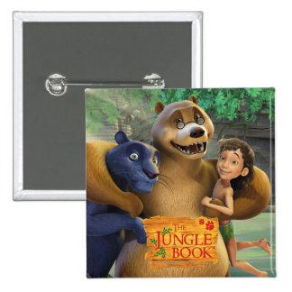 Jungle Book Group Shot 1 Pinback Button