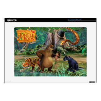 "Jungle Book Group Shot 2 Decal For 15"" Laptop"
