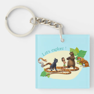 Jungle Book Group Shot 4 Keychain