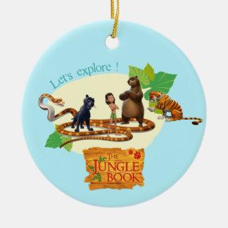 Jungle Book Group Shot 4 Ornaments