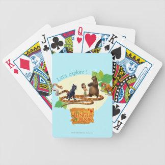 Jungle Book Group Shot 4 Bicycle Card Deck