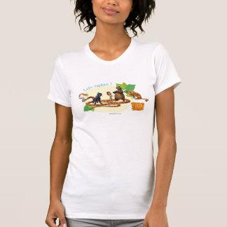 Jungle Book Group Shot 4 Shirts
