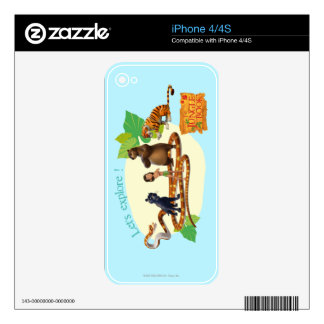 Jungle Book Group Shot 4 Skin For iPhone 4S