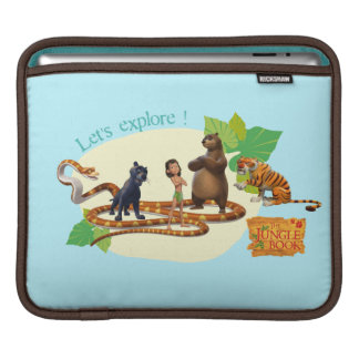 Jungle Book Group Shot 4 Sleeve For iPads