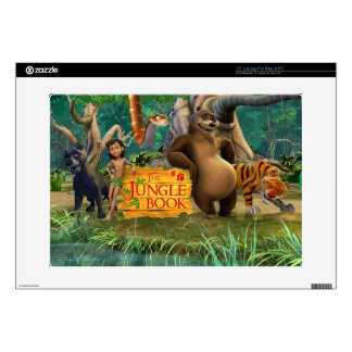 Jungle Book Group Shot 5 Laptop Decal