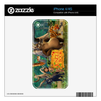 Jungle Book Group Shot 5 Skins For iPhone 4S