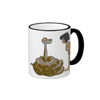 Jungle Book Kaa and Mowgli Disney Ringer Coffee Mug