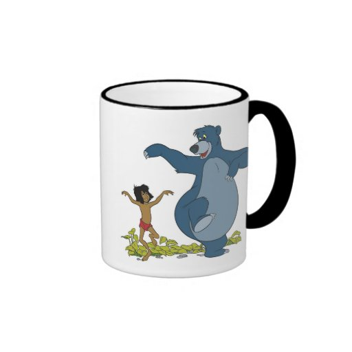 Jungle Book Mowgli and Baloo Dancing Disney Mug