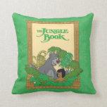 Jungle Book - Mowgli and Baloo Throw Pillows