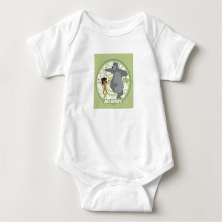 "Jungle Book Mowgli & Baloo ""Just Us Bears"" Disney Baby Bodysuit"