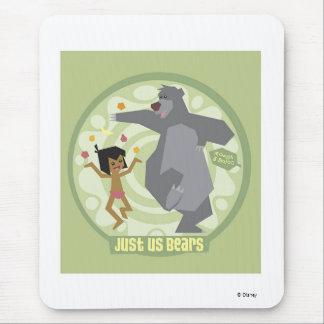 "Jungle Book Mowgli & Baloo ""Just Us Bears"" Disney Mouse Pad"