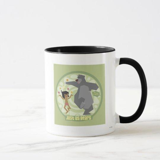 "Jungle Book Mowgli & Baloo ""Just Us Bears"" Disney Mug"