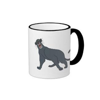 Jungle Book's Bagheera The Panther Disney Ringer Coffee Mug