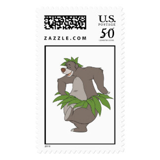Jungle Book's Baloon dances Disney Postage