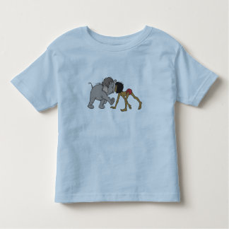 Jungle Book's Mowgli With Baby Elephant Disney Toddler T-shirt