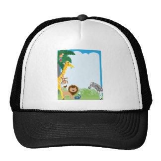 Jungle Border Trucker Hat