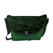 Jungle Brush Messenger Bag