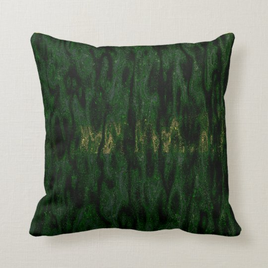 Jungle Brush Throw Pillow