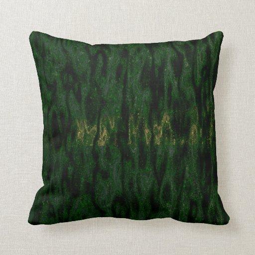 Jungle Brush Throw Pillow