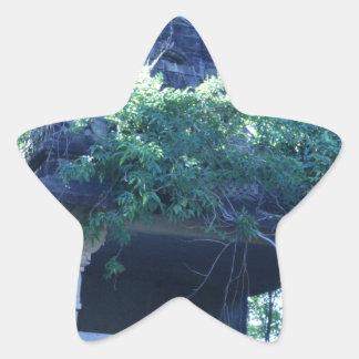 Jungle Building Star Sticker
