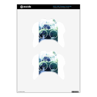 Jungle Building Xbox 360 Controller Decal