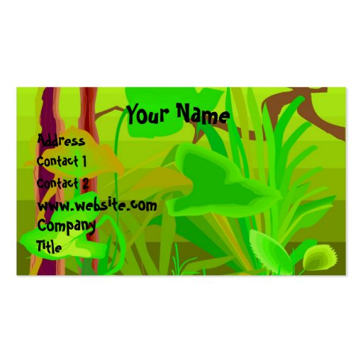 Jungle Business Card