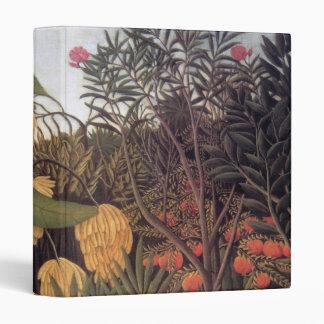Jungle by Henri Rousseau Binder