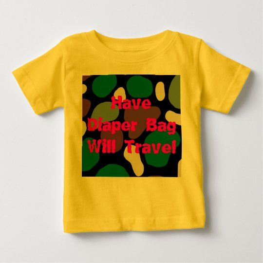 Jungle Camouflage Baby T-Shirt