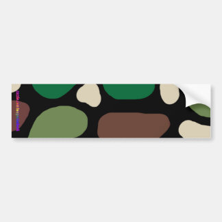Jungle Camouflage Bumper Sticker