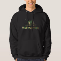 Jungle Camouflage California Republic Flag Hoodie