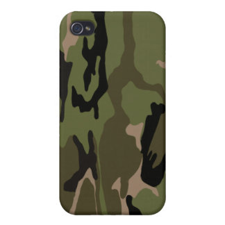 Jungle Camouflage iPhone 4 Cover