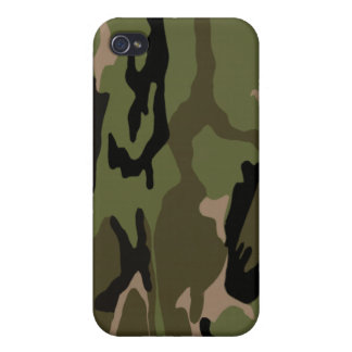 Jungle Camouflage Covers For iPhone 4