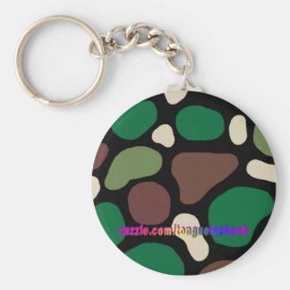 Jungle Camouflage Key Chain