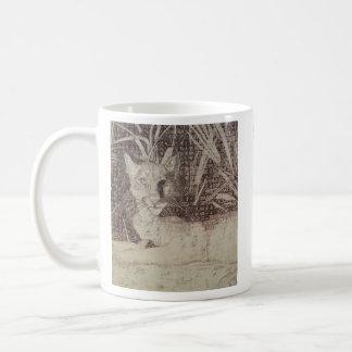 Jungle cat mug
