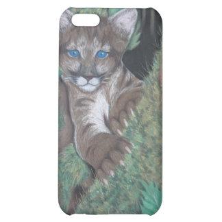 Jungle Cougar Cub iPhone Case iPhone 5C Covers
