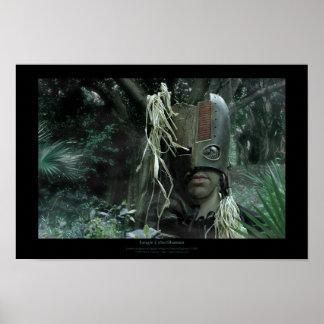 Jungle CyberShaman Print