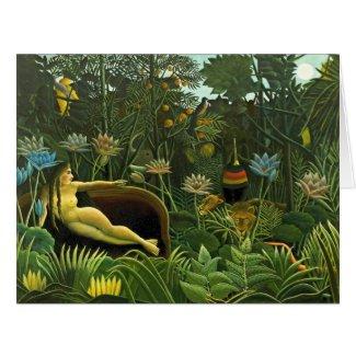 Jungle Dream 1910 Card