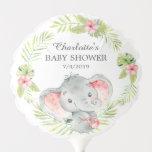 Jungle Elephant Baby Shower Balloon
