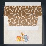 """Jungle Elephant Baby Shower Envelopes<br><div class=""""desc"""">Jungle Elephant Baby Shower Envelopes</div>"""