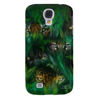 Jungle Eyes Art Case for iPhone 3 Samsung Galaxy S4 Cover