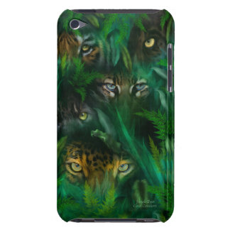 Jungle Eyes Art Case for iPod Touch 4 Barely There iPod Covers