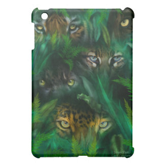 Jungle Eyes Art for iPad iPad Mini Case