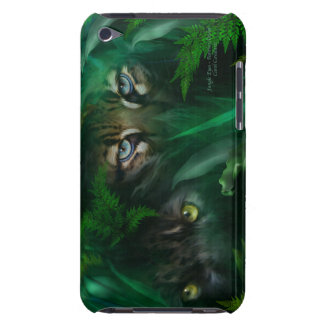 Jungle Eyes-Panther and Ocelot Art Case for iPod Barely There iPod Cases