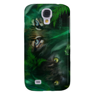 Jungle Eyes-Panther & Ocelot Art Case for iPhone 3 Galaxy S4 Cases