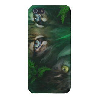 Jungle Eyes-Panther & Ocelot Art Case for iPhone 4