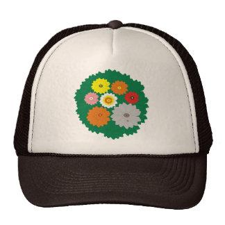 Jungle Flowers Mesh Hats