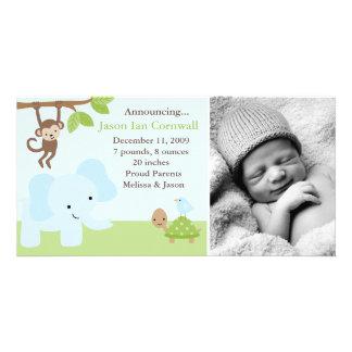 """Jungle Friends""  Birth Announcements"