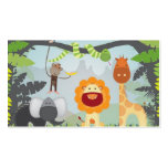Jungle Fun Double-Sided Standard Business Cards (Pack Of 100)